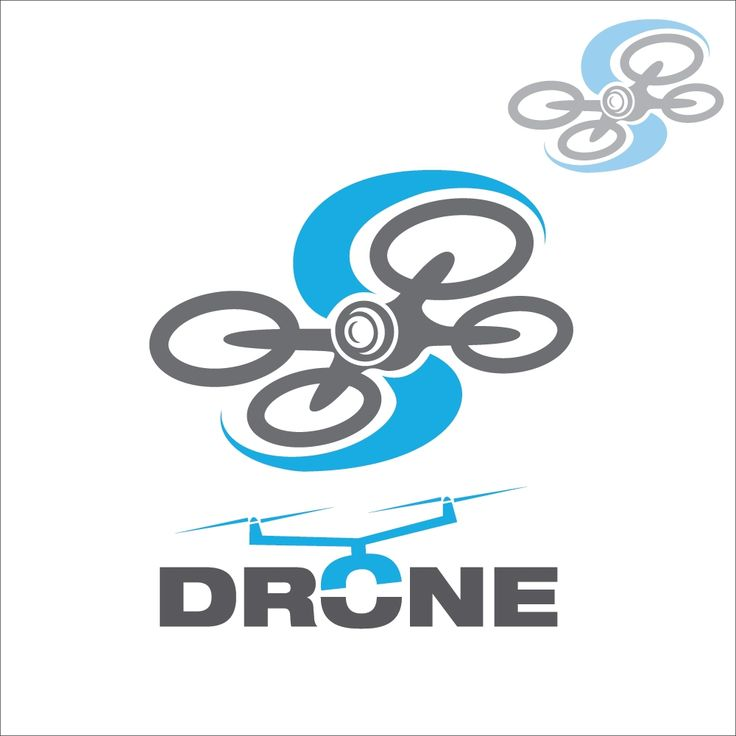 Drone concept 7 concept designed in a simple way so it can be used for multiple purposes i.e. logo ,mark ,symbol or icon.