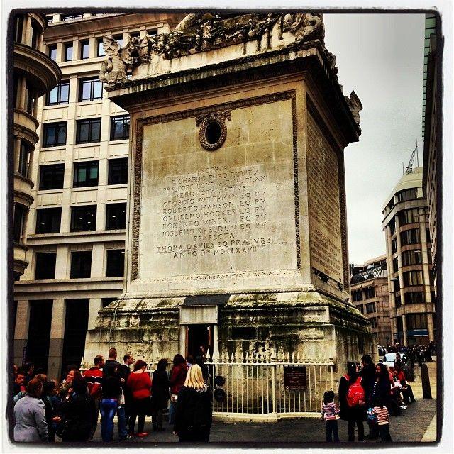 #Monument is 202 feet high - find out why on the #KookyLondon #App https://itunes.apple.com/gb/app/kooky-london/id625209296?mt=8 #ig_London #London #igLondon #London_only #London_gram #UK #England #GreatBritain #British #iPhone #kooky #quirky #odd #weird #photofthday #photography #picoftheday #igerslondon #londonpop #lovelondon #timeoutlondon #londonlife #instalondon #londonstreet #click_london #Padgram