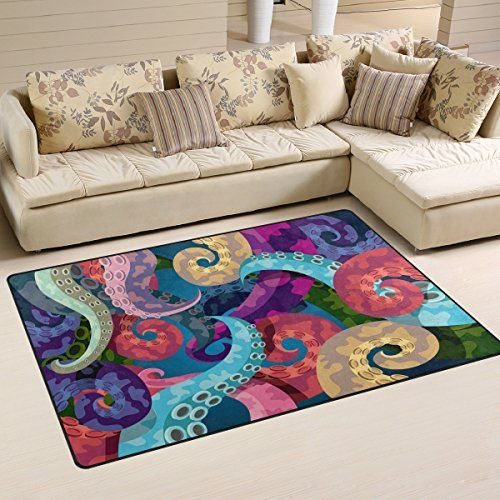 WOZO Colorful Abstract Octopus Kraken Area Rug Rugs Non-S... https://smile.amazon.com/dp/B072PW1CK6/ref=cm_sw_r_pi_dp_x_GRFGzb2MCK5H0
