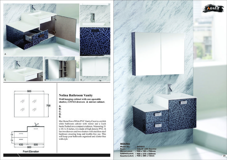 Aosta modular vanity, for more information visit our website www.aosta.in and sms to 52424 and call 01149959900. You can email us also on aosta@aosta.in