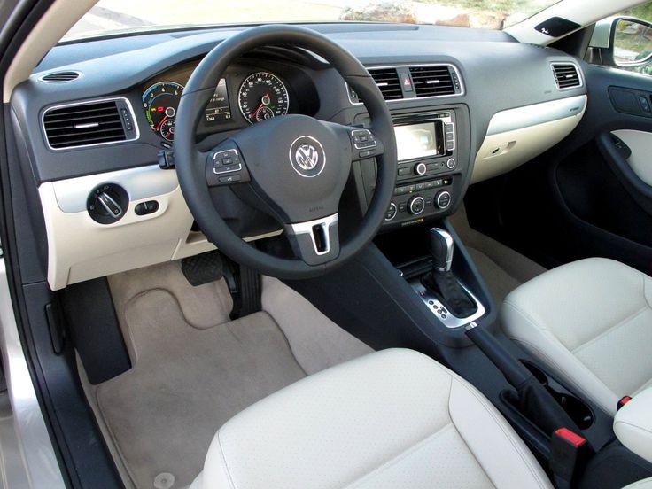 interior black jetta tdi  | 2013 Volkswagen Jetta Hybrid test drive and review