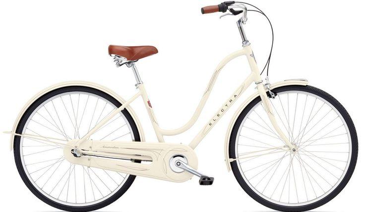 Vélo de Ville Femme Electra AMSTERDAM ORIGINAL 3i Lady - Shimano Nexus 3 V Beige 2015 | Alltricks.fr