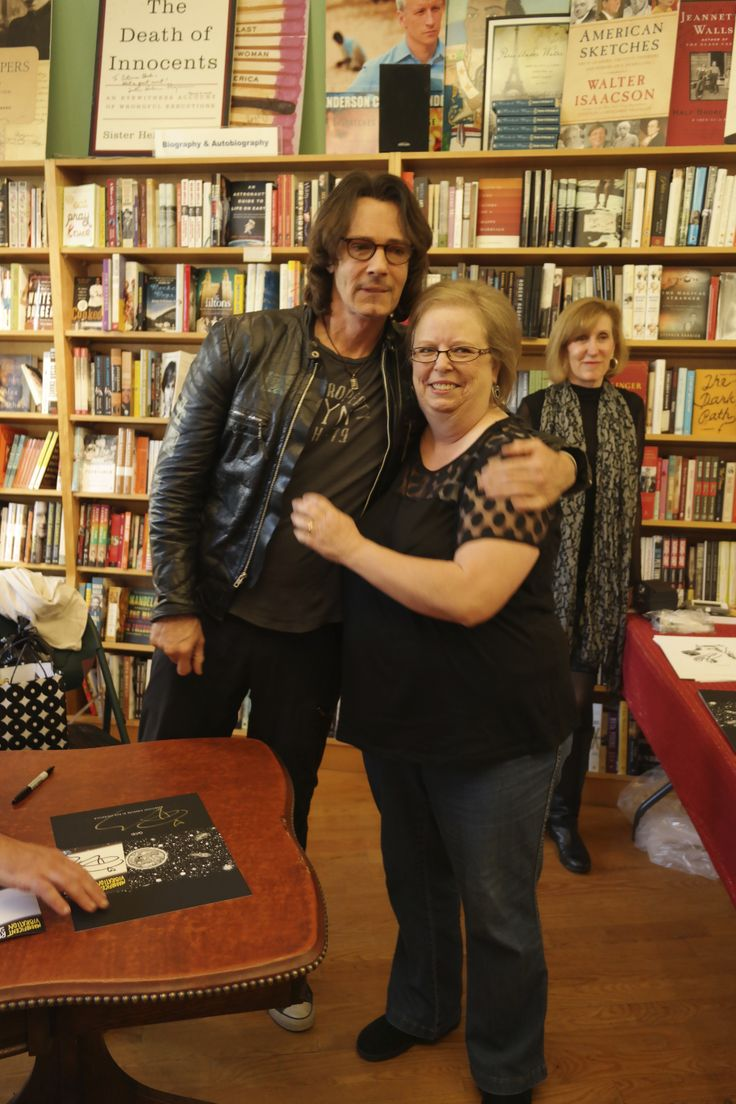 Rick Springsteen with a fan @Octavia Books! #nola (His book, MAGNIFICENT VIBRATION, is out in May: http://www.octaviabooks.com/book/9781476758909.)
