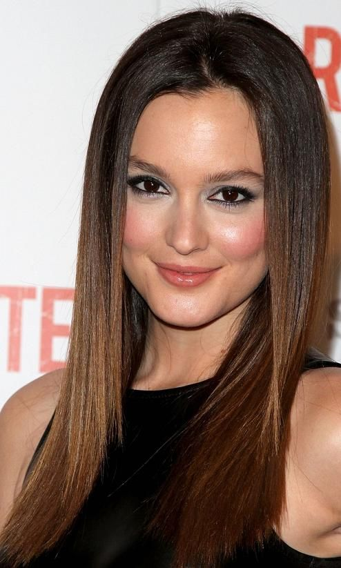 Dark Brown Ombre Hair Straight