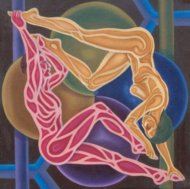 he elegido esta obra llamada simetría de Hugo Enrique Quintero Soto me ha gustado a la ora de escoger imágenes y llamado la atención.