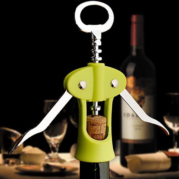 Manually wine opener Stainless Steel Bottle Opener sommelier wedding wine openers set Novelty corkscrew for cork. Click visit to buy #kitchen #tool #KitchenTool