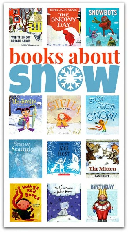 Books About Snow (from No Time For Flash Cards)