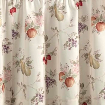 Summer Fruit Kitchen Tier Curtain