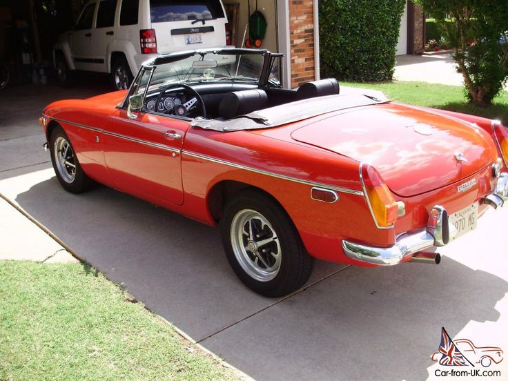 Featured Listing 1970 MG B Roadster Roadsters, British