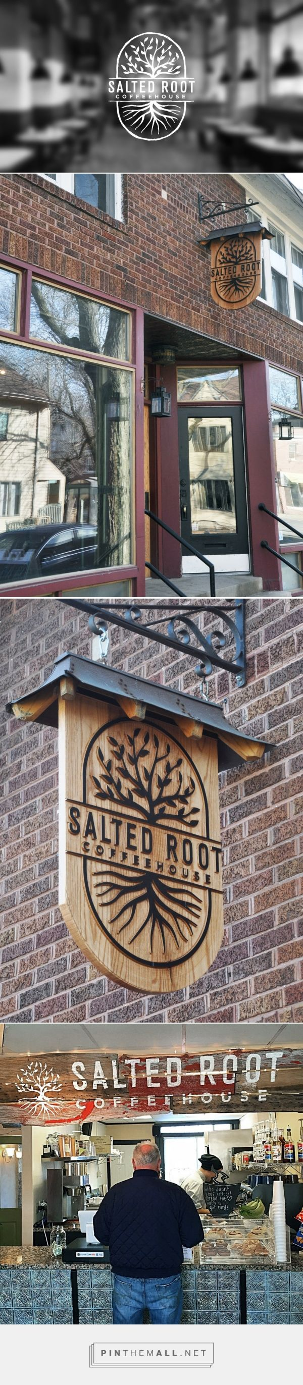 Salted Root Logo and Signage by brianrodenberg | Fivestar Branding – Design and…