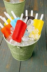 My favorites were root beer, orange, the blue...oh heck, I loved them all!  Especially when i got the whole thing!