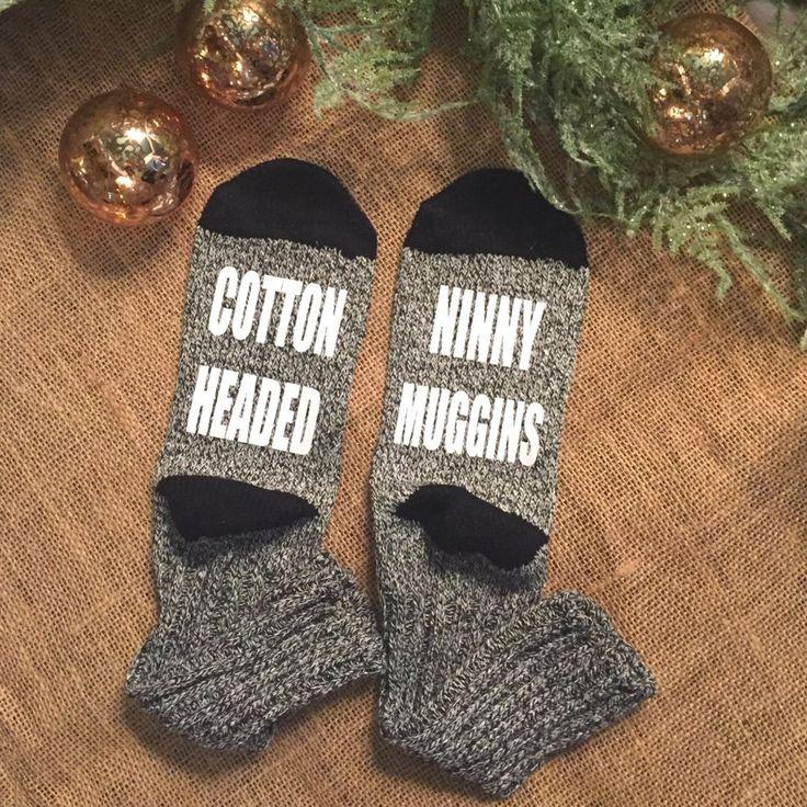 Cotton Headed Ninny Muggins Printed Socks