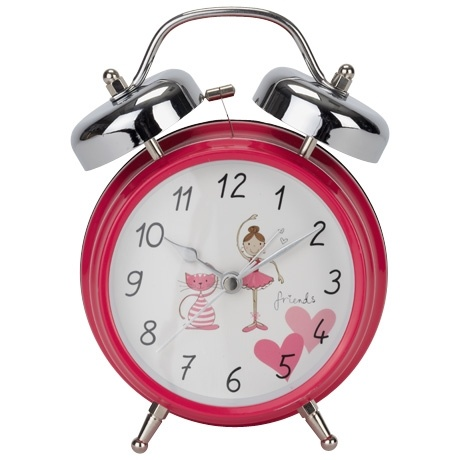 Dance Class Kitty Alarm Clock Pink For Madison's room.