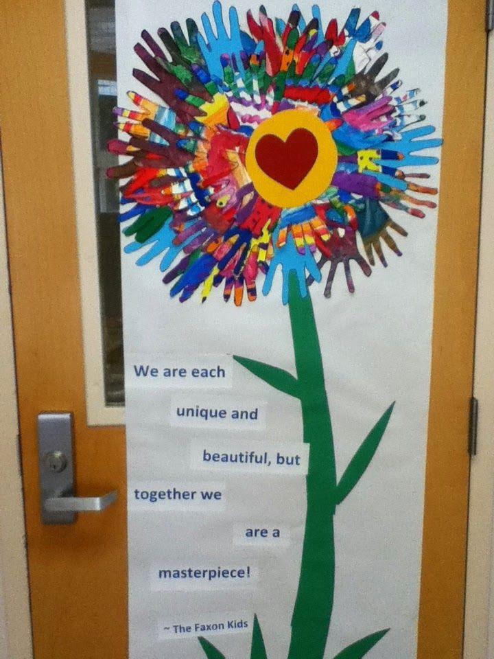 Classroom Unity Ideas ~ The best multicultural bulletin board ideas on