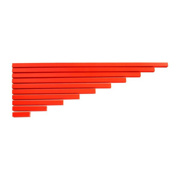 Long Red Rods from Montessori Outlet $40.95