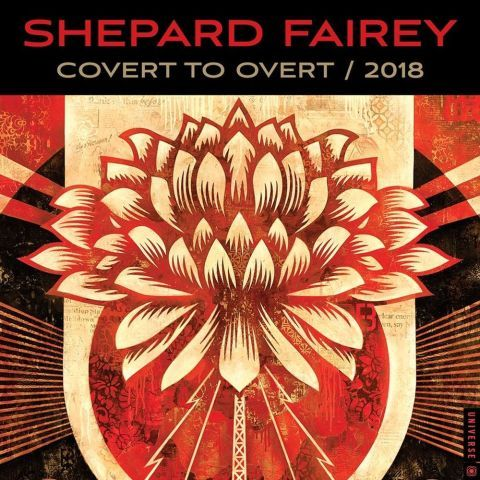 Art deco fairytales 2018 wall calendar shepard fairey wall calendar