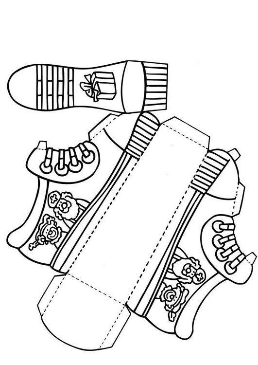Craft Shoe for Saint Nicholas (without text)