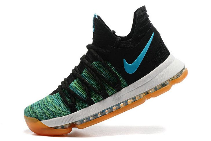 Free Shipping Only 69$ New KD 10 X Birds of Paradise Clear Jade Gum Sole