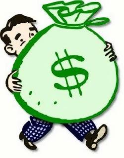 dinheiro grande...