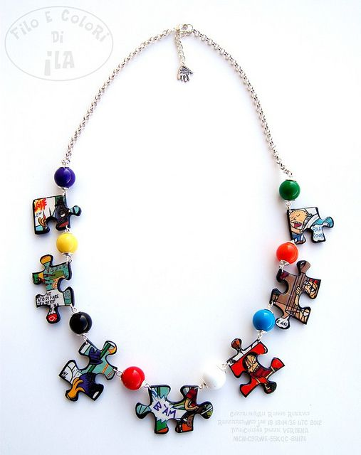 Collana Puzzle Verdena | Flickr - Photo Sharing!