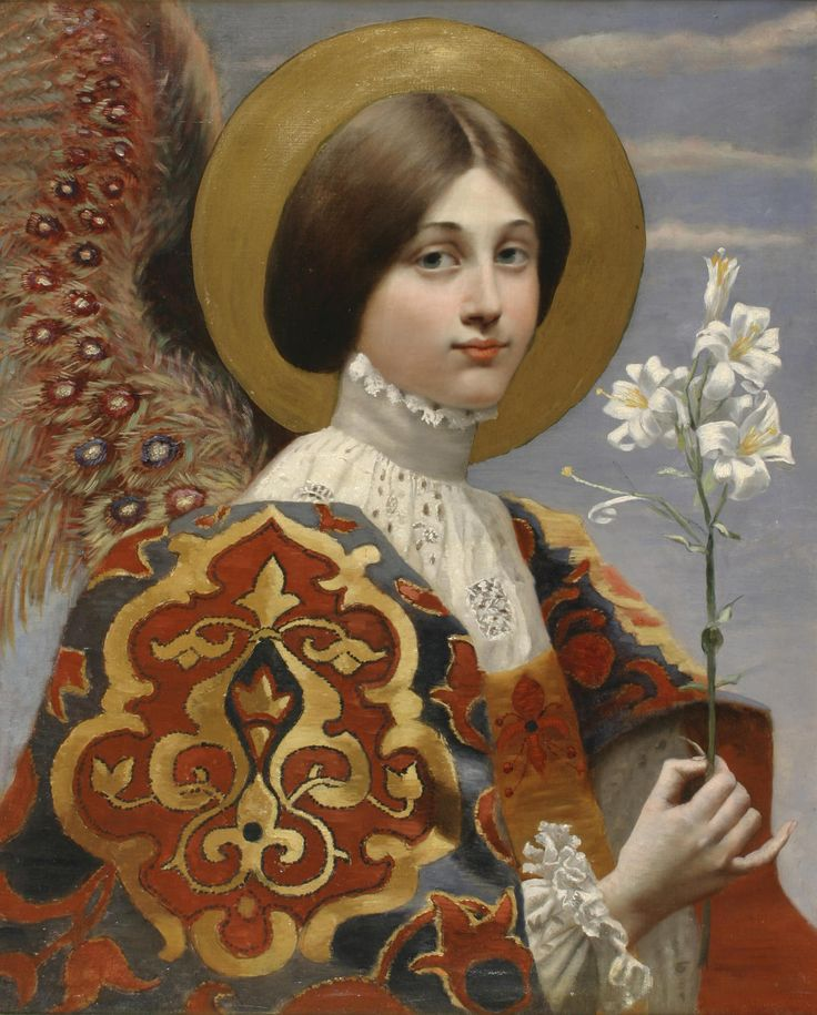 Sodomites with Unpleasant Accents | jeannepompadour: Angel of annunciation , FRench...