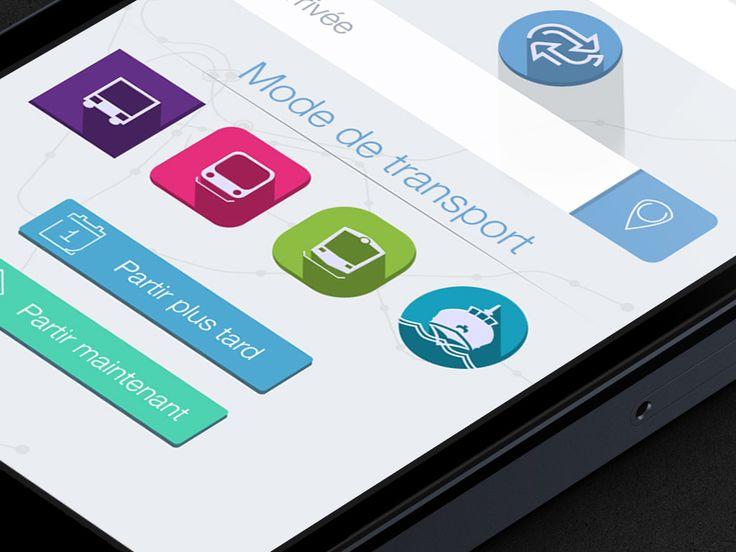 RTM app by Arnaud saunier