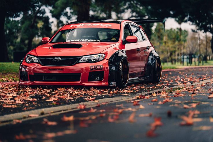 #Subaru #Impreza_WRX_STi #ConceptOne_Wheels CF-6's #WideBody #Modified #Slammed #Stance #Bagged #Dumped