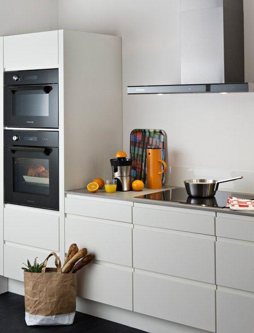 1000 images about cuisine on pinterest small kitchens - Cuisine ouverte sur salon petite surface ...