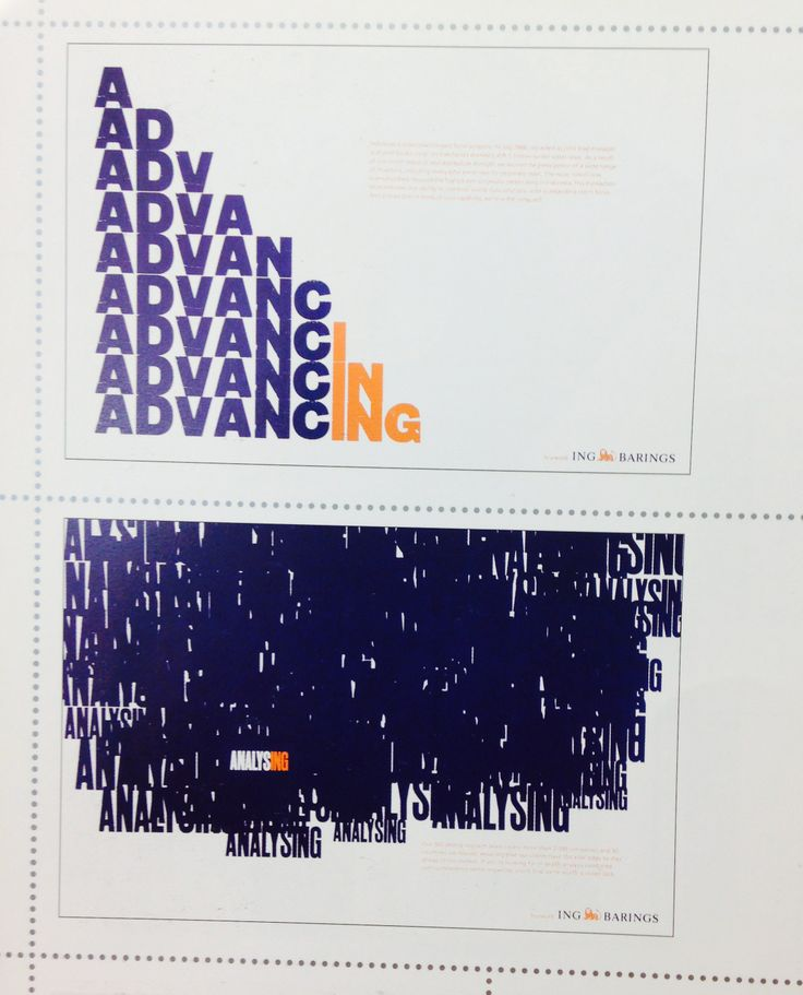 Vince Frost – Advertising posters for ING Barings bank