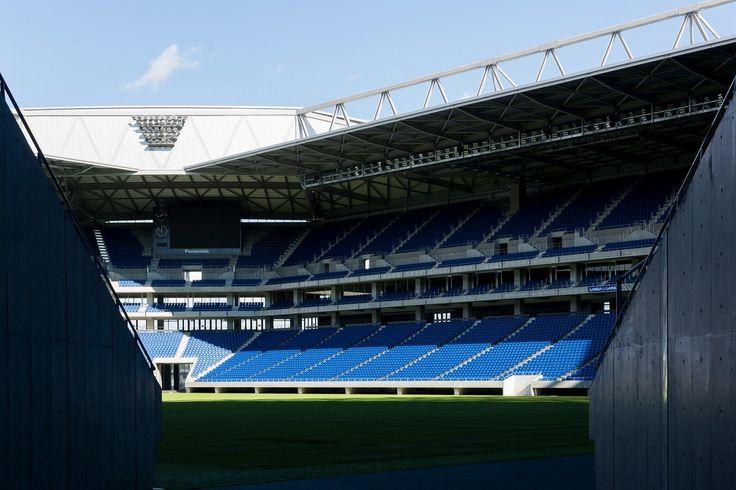 Suita City Football Stadium, Osaka, Japan 市立吹田サッカースタジアム sports, stadium, soccer, ガンバ大阪