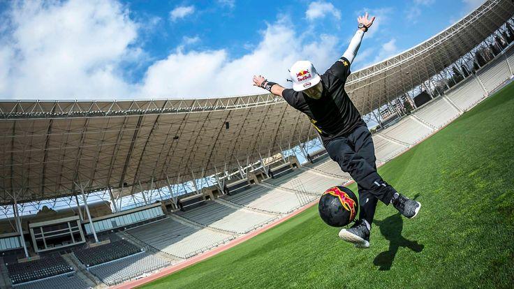 Freestyle Soccer Tricks mit Séan Garnier