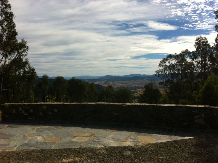 Views over to Mt Kosciuszko from the ride up from Omeo to Dinner Plain.