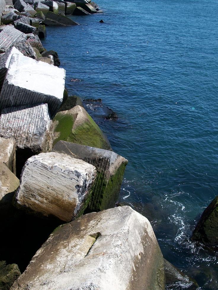 Blokiek. Bermeo. Sea