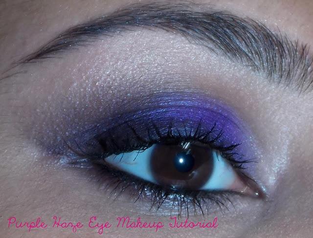 Purple Haze Eye makeup Tutorial