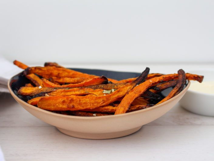 Carrot Fries – The Shrinking Violet