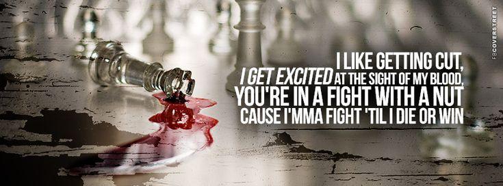Eminem Marshall Mathers LP 2 Survival Lyrics Quote 2  Facebook Cover