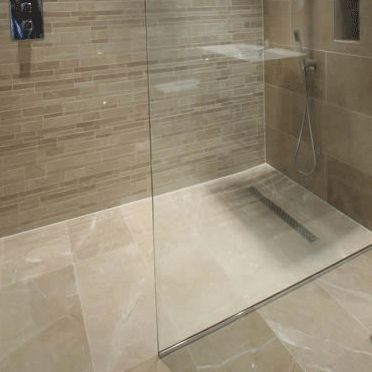 24 best images about wet rooms on pinterest toilet room for Best flooring for wet rooms