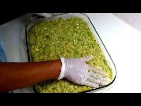 Αλμυρή κολοκυθόπιτα χωρίς φύλλο - cretangastronomy.gr - YouTube