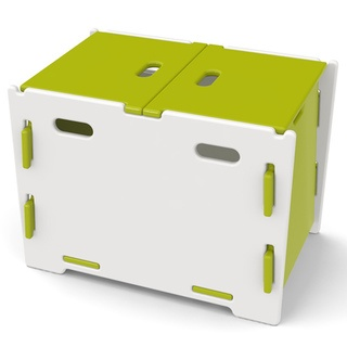 e'S ROOM    @Overstock - Get organized and store away some clutter with this lime green and white composite wood toy box from Legare. It is finished with a non-toxic enamel paint to give it a contemporary look, and it is sturdy enough to be used as a kid's bench. http://www.overstock.com/Home-Garden/Legare-Kids-Lime-White-Toy-Box/6720125/product.html?CID=214117 $59.99
