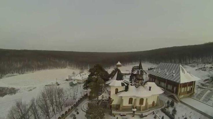 Mănăstirea Bujoreni -Barlad-filmare aeriana