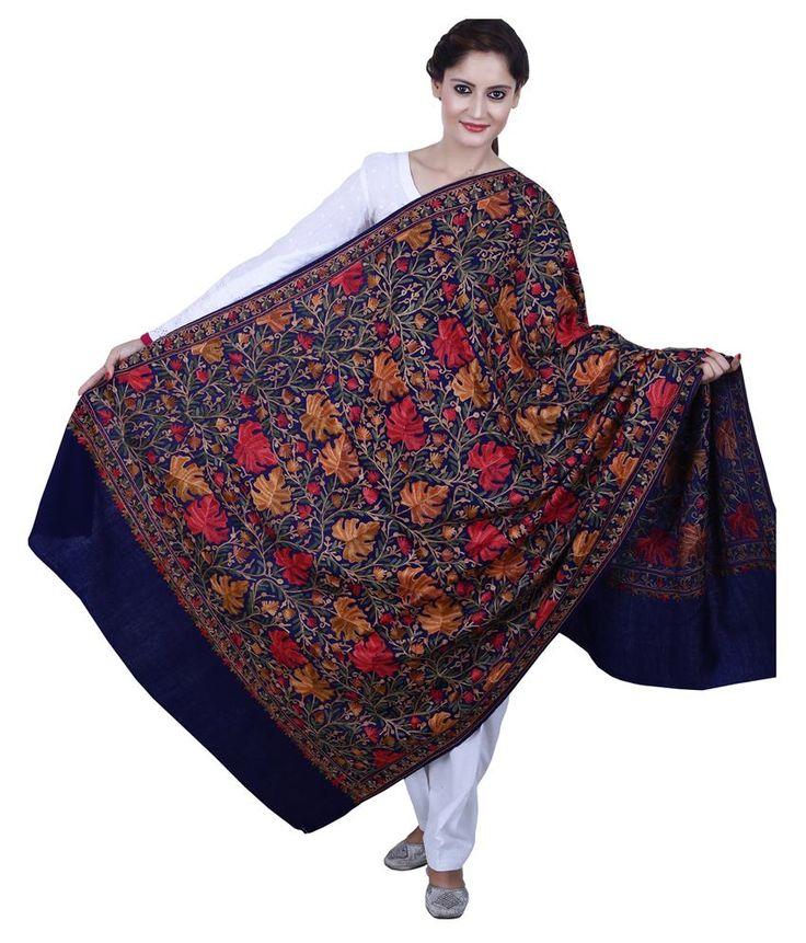 Madeinmyindia Multicolor Woolen Shawls