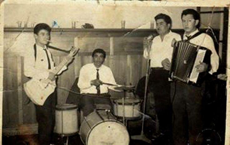 Galería Histórica de Carahue.  Don Lucho y su Banda. 1960. Integrada por el recordado Copito de Nieve, Carlos Ulloa, Quilodrán y otros.  #ghc #carahue #memoria #patrimoniofotografico