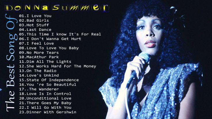 Best Song Of Donna Summer | Donna Summer Greatest Hits Full Album (New e...
