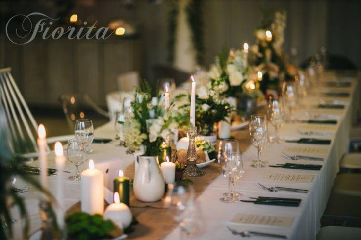 Svatební hostina ve stylu Shabby Chic v restauraci Soho+