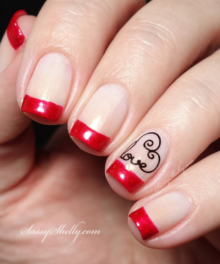 Love Nail Art Designs Gallery: More Valentine's Day Nail Art!
