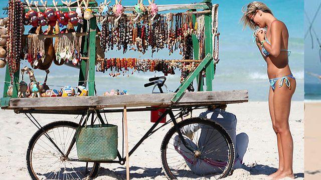 Marbella, Spain  Beach Vendor