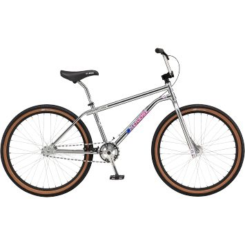 """GT BMX bike with 26"""" wheels! Sweet! Old school. Could dork around on this thing like a kid again! Looks identical to an old neighbor's bike. Wish they'd do a Dyno like my old one in 26"""""""