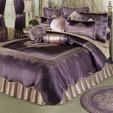 Vintage Lace Comforter Bedding Comforter