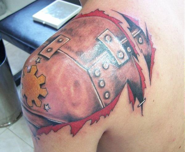 Amazing Armor Tattoos for Men (7)