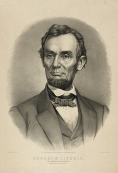 *PRES.ABRAHAM LINCOLN~ Mar4,1861 took the oath of ofc.+a few wks later…
